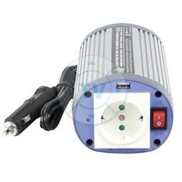 HQ Gemodificeerde Sinus Omvormer 24 VDC - AC 230 V 150 W F (CEE 7/3) / USB