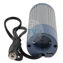HQ Gemodificeerde Sinus Omvormer 24 VDC - AC 230 V 100 W F (CEE 7/3) / USB