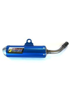 HGS Schalldämpfer KTM SX65 / Husqvarna TC65 16-18  blau