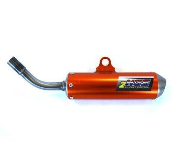 HGS Schalldämpfer KTM SX65 / Husqvarna TC65 16-18  orange