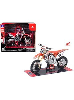 New Ray Honda Racing Team CRF450R Cole Seely #14 Motorcycle Model 1/12