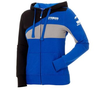 Yamaha Paddock Blue Racing-Kapuzenpullover für Damen
