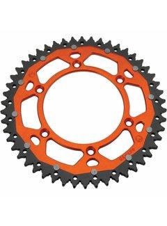 Moose Racing Kettenrad Aluminium Dual orange für KTM