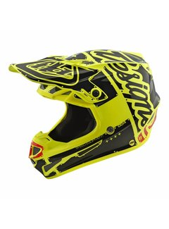 Troy Lee Designs Helm SE4 Polyacrylite Factory yellow