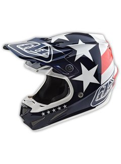 Troy Lee Designs Helm SE4 Composite Freedom blue