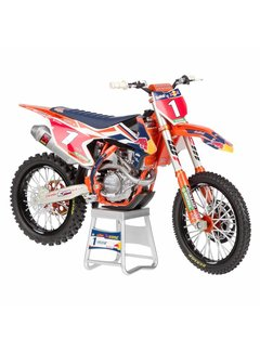 Sunimport KTM Racing Team 450 SX-F Ryan Dungey #1 Motorcycle Model 1/12