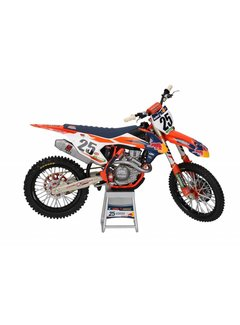 Sunimport KTM Racing Team 450 SX-F Marvin Musquin #25 Motorcycle Model 1/12