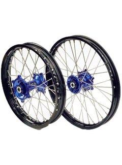 4MX Felge vorne MX 21X1.60 Narbe blau