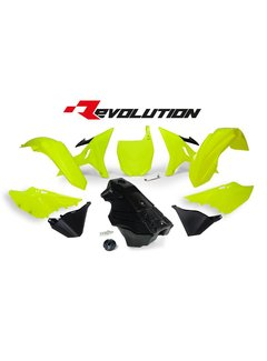 R-tech REVOLUTION KIT YZ 125/250 02- / WR 250 16- Neongelb inkl. Tank