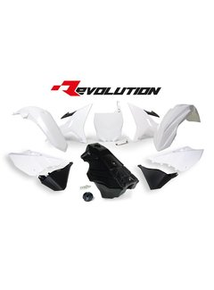 R-tech REVOLUTION KIT YZ 125/250 02- / WR 250 16- weiss inkl. Tank