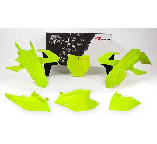 R-tech Plastikkit KTM SX/SXF 16-18 6-teilig neon gelb