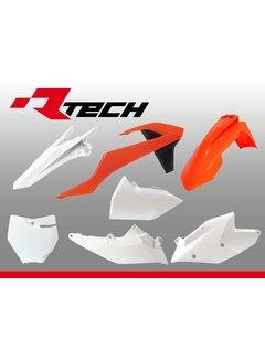 R-tech Plastikkit KTM SX/SXF 16-18 6-teilig OEM Farbe