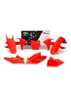 R-tech Plastikkit KTM SX/SXF 16-18 6-teilig orange