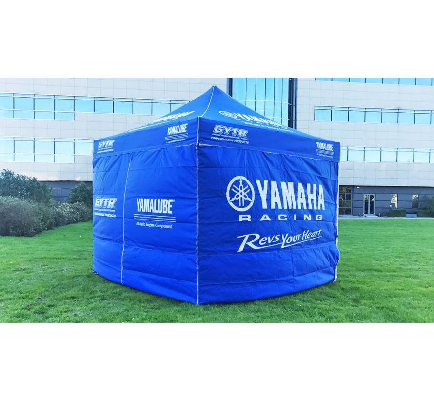 3x3 Zelt original Yamaha blau