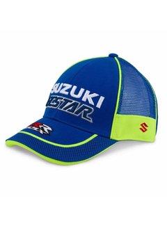 Suzuki Ecstar Mesh Round Peak Baseball Cap