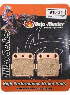 Motomaster Bremsbelege Brakepad hinten für Yamaha YZ85