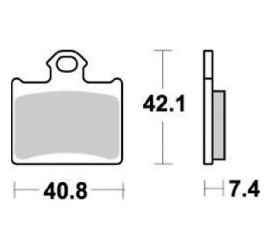 Bremsbelege Brakepad hinten für KTM SX85 Husqvarna TC85 Freeride