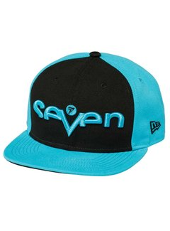 Seven Cap Brand black light blue