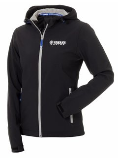 Yamaha Paddock Blue Softshelljacke schwarz für Damen