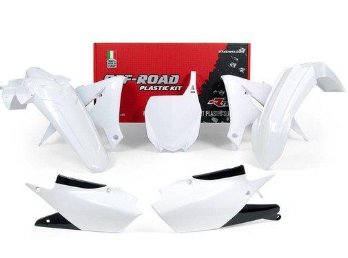 R-tech Plastikkit Yamaha YZF 450 2018- Weiß 5tlg.
