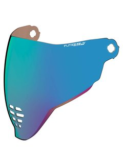 Icon Visier Fliteshield RST blue
