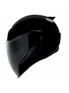 Icon Airflite Helm Gloss Solids schwarz glänzend
