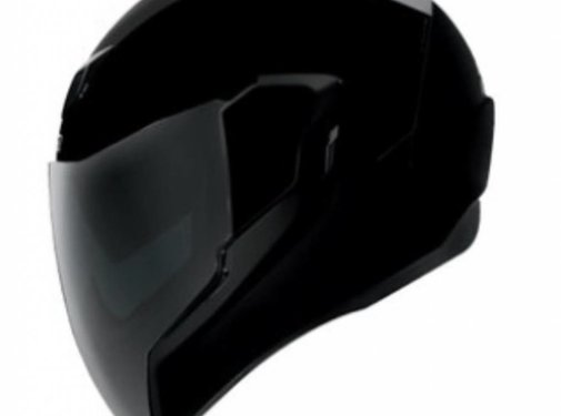 Icon Airflite Helm Gloss Solids schwarz