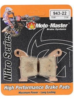 Motomaster Bremsbelege Brakepad hinten für Honda CRF250/450 Bj. 02-