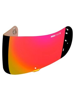 Icon Visier Airframe Pro & Airmada & Airform Optics Shield - Red
