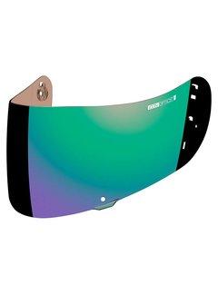 Icon Visier Airframe Pro & Airmada Optics Shield - Green