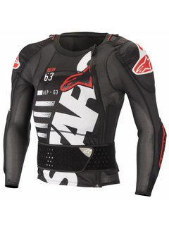 Alpinestars Protektorjacket SEQ PR LS Black White Red