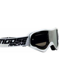 Moose Racing Qualifier MX Enduro Brillen schwarz - weiss