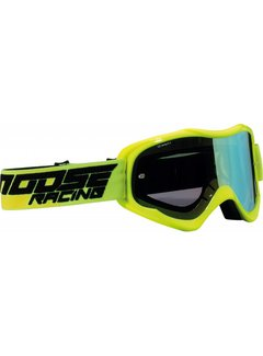Moose Racing Qualifier MX Enduro Brillen schwarz -Hi-viz gelb