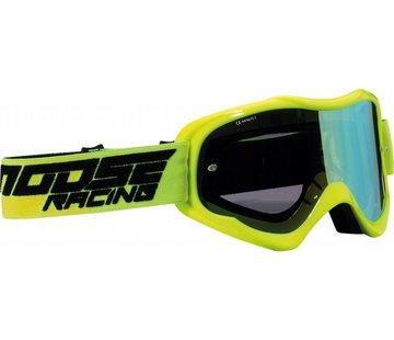 Moose Racing Qualifier MX Enduro Brillen schwarz -Hi-viz gelb