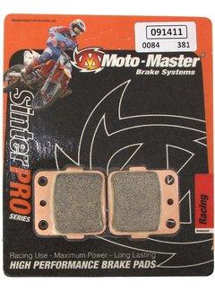 Motomaster Bremsbelege Brakepad hinten für Yamaha YZ65