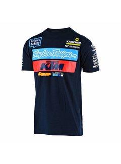 Troy Lee Designs T-Shirt Team KTM Tee navy