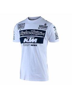 Troy Lee Designs T-Shirt Team KTM Tee weiss
