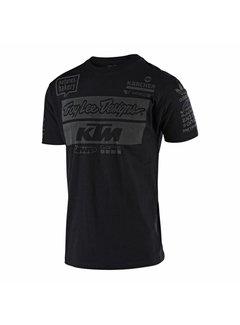 Troy Lee Designs T-Shirt Team KTM Tee schwarz