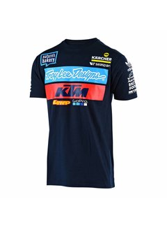Troy Lee Designs Kinder T-Shirt Team KTM Tee navy