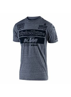 Troy Lee Designs Kinder T-Shirt Team KTM Tee Heather Charcoal