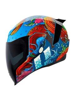 Icon Airflite Helm Inky blau