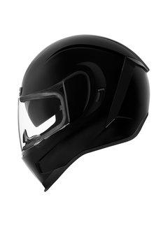 Icon Airform Helm Gloss schwarz