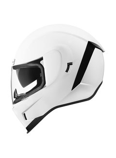 Icon Airform Helm Gloss weiß