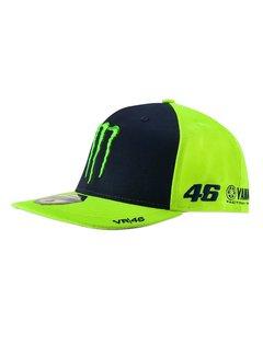 VR46 Mütze Cap Kappe Sponsor MID Visor