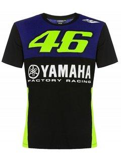 VR46 Herren Yamaha T-Shirt Royal Blue