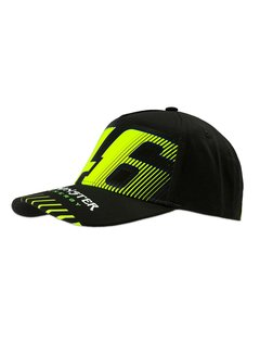 VR46 Cap Kappe Monza Monster black