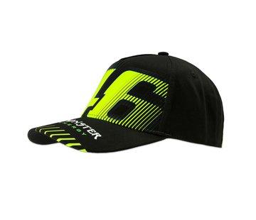 VR46 Cap Kappe Monza Monster black