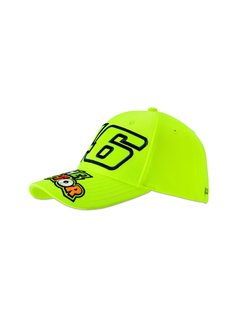 VR46 Kappe Cap Kinder The Doctor fluo yellow