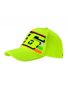 VR46 Kappe Cap fluo yellow