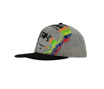 VR46 Kappe Cap mel. grey Dottorino